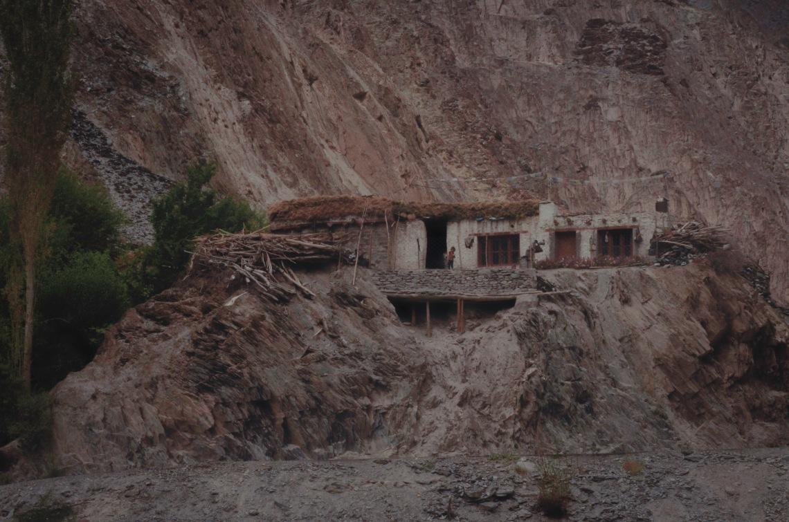 typical Ladakhi house